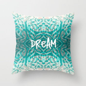 Tattooed Dreams Throw Pillow by Caleb Troy | Society6