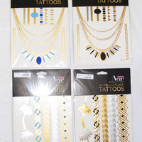 Metallic Flash Tattoos