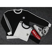 """Adidas"" Women Fashion Top Sweater Pullover Sweatshirt"
