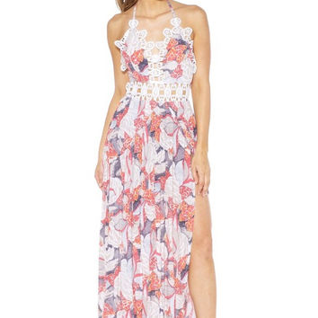 CALLA FLORAL MAXI DRESS - FINAL SALE