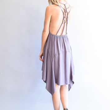 Mountain Stream Strappy Dress