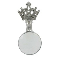 Silver Magnifying Glass with Crown | Shop Hobby Lobby