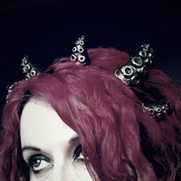 Cthulhu StarSpawn Tentacle Crown Headdress small made to order