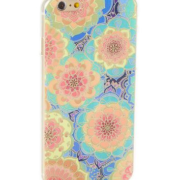 Boho Flower Hard Case for iPhone 5 / 5S & SE