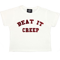 Beat It Creep Baby Crop Tee