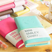 planner diary sketchbook material escolar caderno agenda cuadernos journal smiley agendas personal diaries nootbook note book