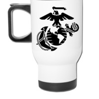 marine corp - Travel Mug