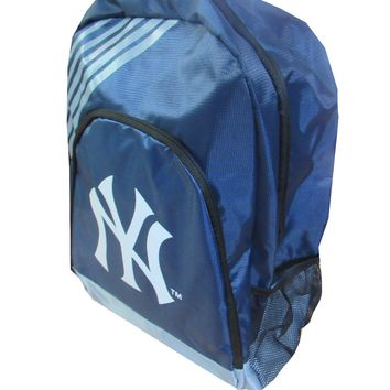 New York Yankees Striped Backpack