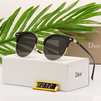 Dior Women Retro Fashion Shades Eyeglasses Glasses Sunglasses