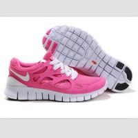 NIKE running shoes light casual shoes Pink