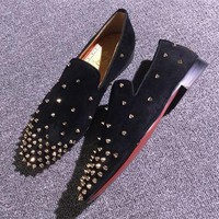 Cl Christian Louboutin Loafer Style #2382 Sneakers Fashion Shoes - Best Deal Online