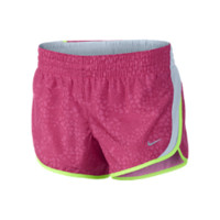 "Nike 3.5"" Printed Dash Girls' Running Shorts (Pink)"