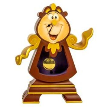 Limited Edition Cogsworth Clock Statue from Beauty & the Beast