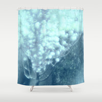 blue magic Shower Curtain by Marianna Tankelevich