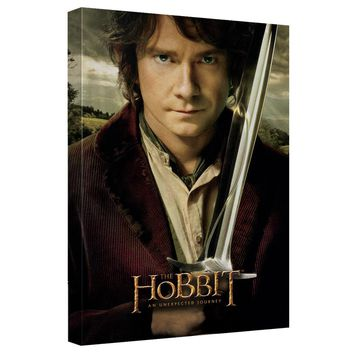 The Hobbit - Unexpected Poster Canvas Wall Art With Back Board