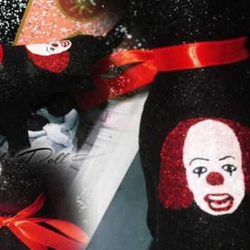 INSTOCK Stephen King's IT Pennywise Clown Horror Victoria Secret Customized Puppy Dog
