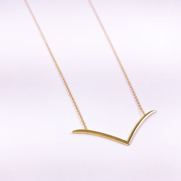Seagull Shaped Necklace