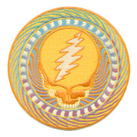 Grateful Dead Orange Sunshine Patch