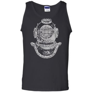 Big Texas Deep Sea Diver Helmet T-Shirt Tank Top