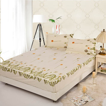 mattress cover permanent loving set bedcloth cushion cover bedspreads bedding sheet summer ruffle fitted cover elastic bed cover