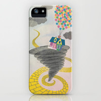 The Wizard of Up iPhone Case by Robert Scheribel | Society6