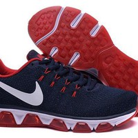 ESBY4E Nike Air Max Tailwind 8 Dark Blue & Red Running Shoes For Men