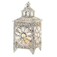 Zingz & Thingz Glamorous Iron and Acrylic Lantern