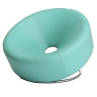 Best Selling Modern Round Chair, Blue