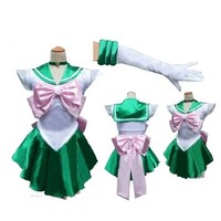 Sailor Moon Costume Cosplay Uniform Fancy party Dress & Gloves