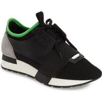 ONETOW balenciaga mixed media sneaker women nordstrom 2
