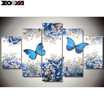 ZOOYA 5d diy Diamond embroidery butterfly flower diamond painting Cross Stitch full drill Rhinestone mosaic Multi-picture