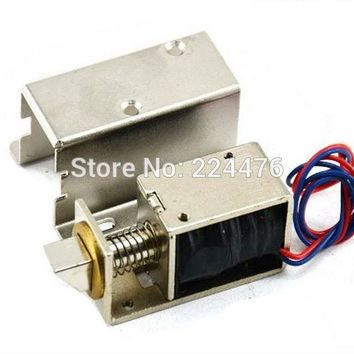 Electronic door lock12V 24V small electric locks cabinet locks drawer small electric lock rfid access control