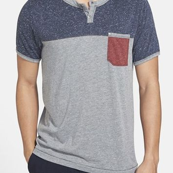 Men's Jeremiah 'Nathan' Colorblock Short Sleeve Henley,