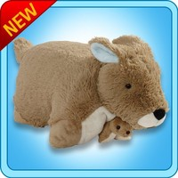 My Pillow Pets Kangaroo and Baby Plush,
