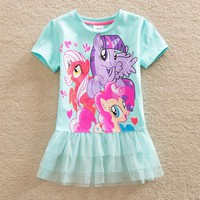 Short Sleeve My Little Pony Dress