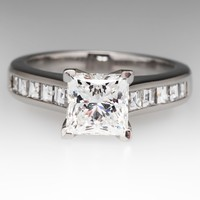 GIA Internally Flawless 1.5 Carat Diamond Ring