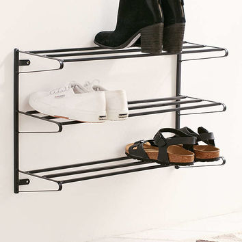Wall-Mounted Shoe Rack - Urban Outfitters