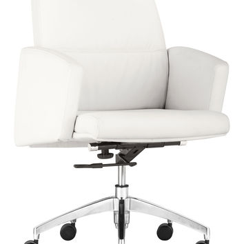 Chieftain Low Back Office Chair White