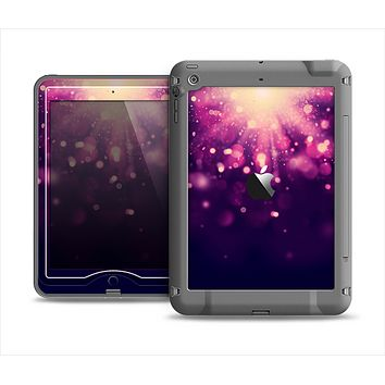 The Dark Purple with Desending Lightdrops Apple iPad Mini LifeProof Nuud Case Skin Set
