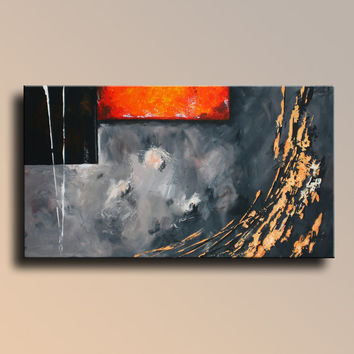 "35,4"" Original Abstract Painting on Canvas Contemporary Modern Art Wall Hanging wall decor for your home"
