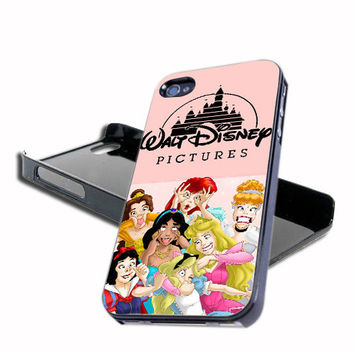 Walt Disney Characters Design For iPhone 4/4s And iPhone 5 Case, Samsung Galaxy S3 i9300 And Samsung Galaxy S4 9500
