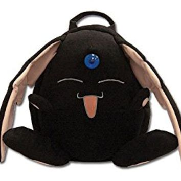 GE Animation 5543 XXholic Black Mokona Modoki Plush Backpack, 12""