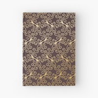 'Virynne' Hardcover Journal by Kerry-Symetria
