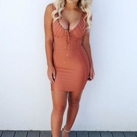 Hot In Here Dress: Terracotta