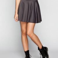 Full Tilt Skater Skirt Grey  In Sizes