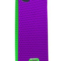 iFrogz Breeze Case for iPhone 5 - Retail Packaging - Purple/Green