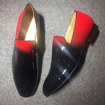 DCCKU62 Cl Christian Louboutin Loafer Style #2309 Sneakers Fashion Shoes