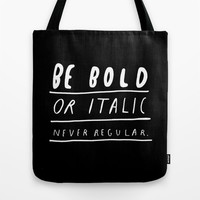 NEVER Tote Bag by WASTED RITA