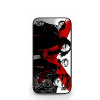 2013 My Chemical Romance Gerard Way Black iPhone 4 4S / iPhone 5 Case Cover
