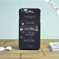 one direction story lyric iPhone 6 Plus iPhone 6 Case